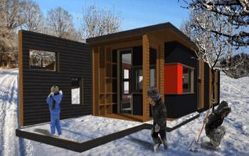 Habitat léger de loisir en béton