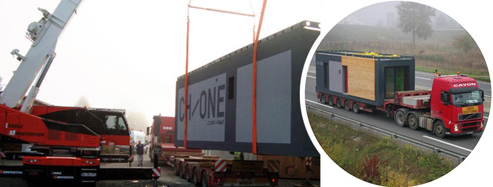 Livraison de HLL par camion